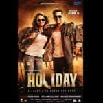 Holiday new poster: Sonakshi Sinha and Akshay Kumar in rugged…