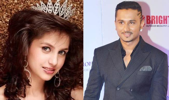 Miss India Koyal Rana and Yo Yo Honey Singh