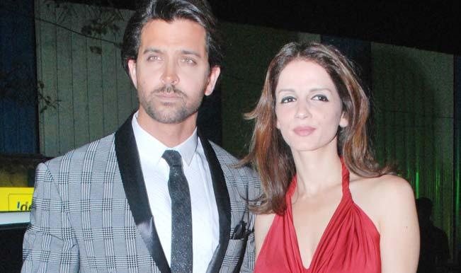 Hrithik Roshan and Sussanne Roshan