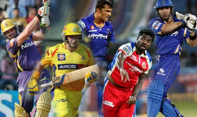 IPL 2014: 5 oldest players to be seen in action in IPL 7