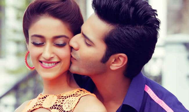Ileana and Varun in Main Tera Hero