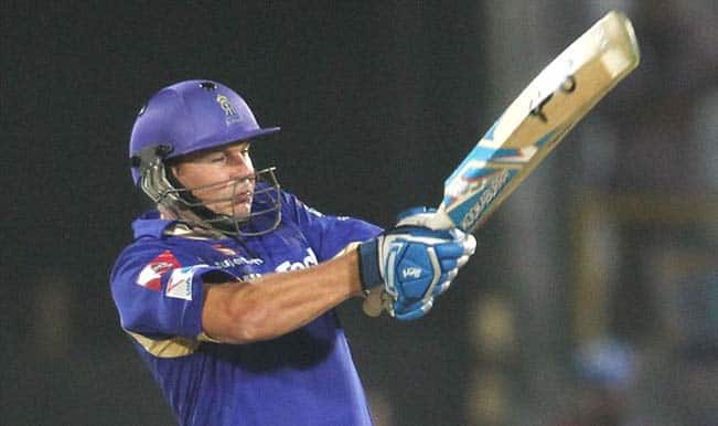 IPL 2014, RR vs KXIP: Samson and Watson's half century helps RR post a daunting total of 192