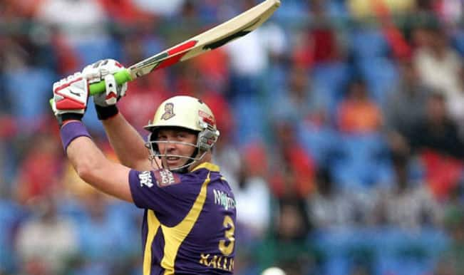 IPL 2014 MI vs KKR, Mid-Innings Report: Pandey and Kallis steer KKR to 163