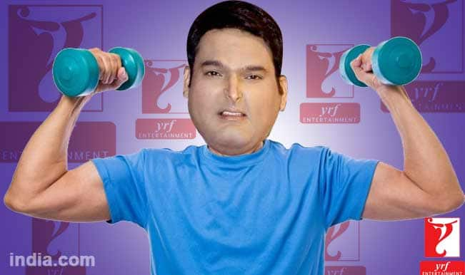Kapil Sharma fighting weight issues for YRF movie debut
