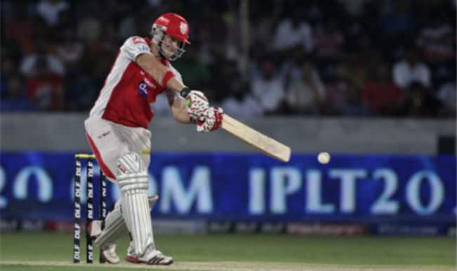 Maxwell and Miller Maul CSK as KXIP win by 6 wickets