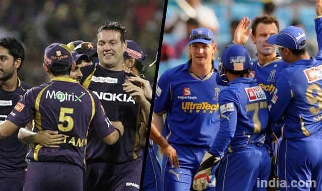 IPL 2014, KKR vs RR: A glance at their previous IPL duels