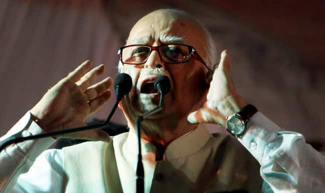 Advani appears to have reservations over Narendra Modi-centric campaign