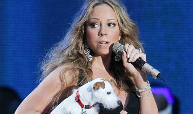 Mariah Carey spends 28,000 pounds per year on dog grooming!