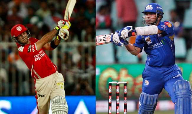 Is Sachin Tendulkar behind Glenn Maxwell's 'The Big Show' in IPL 2014?