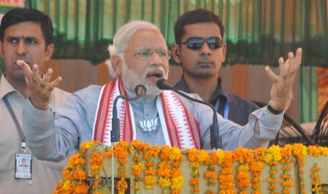 For Rahul Gandhi, poverty is a matter of fun: Narendra Modi