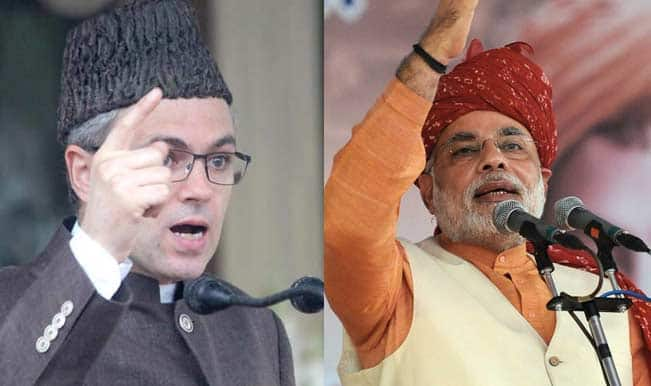 Narendra Modi blames Abdullah family for the exodus of Kashmiri Pandits; Omar return fires