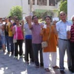 Maharashtra Polls: Large turnout of voters in Pune; Shinde, Supriya…