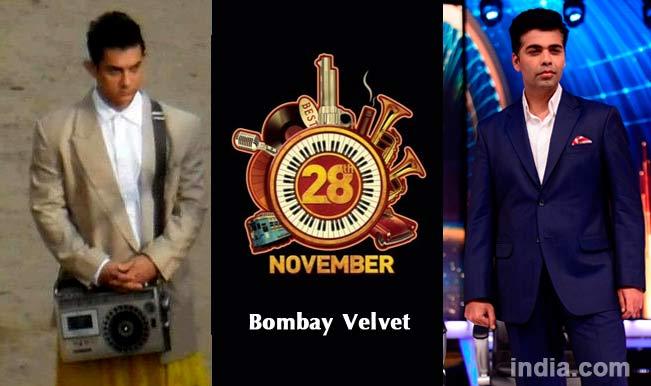 Ranbir Kapoor's Bombay Velvet, Aamir Khan's P.K. and Karan Johar's Ungli release dates out!