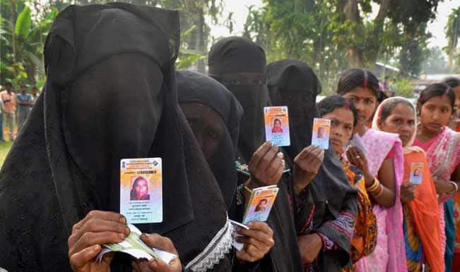 Over 49 percent vote for Assam's five seats