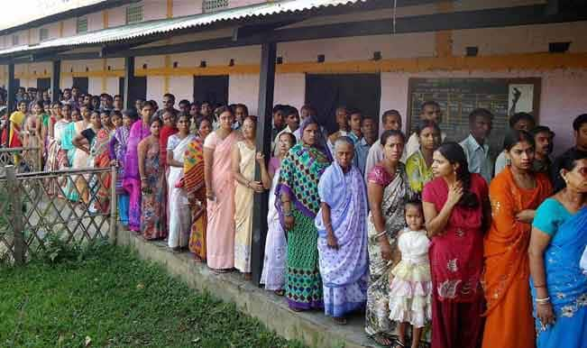 Lok Sabha Elections 2014: 84 percent voting in Tripura, 72.5 percent in Assam