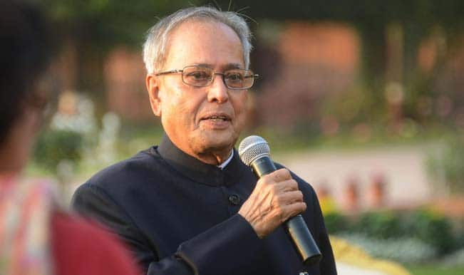 President Pranab Mukherjee presented the Padma awards