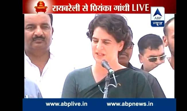 Priyanka Gandhi attacks Narendra Modi over Gujarat model