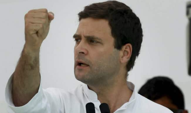 Rahul Gandhi says his prime focus is to uplift working class