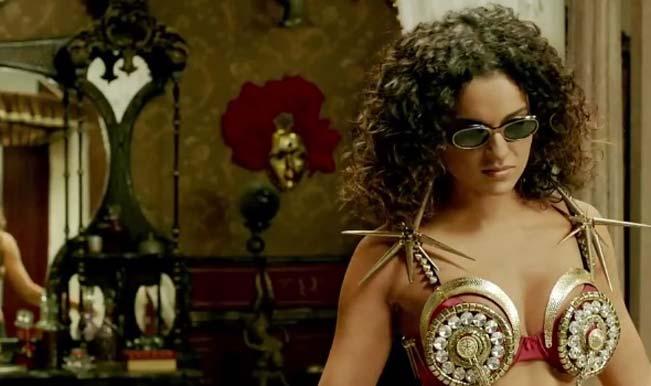 Revolver Rani song Thaayein Kare Katta : Watch rowdy Kangana romance Vir Das!