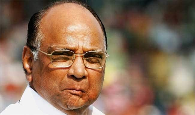 "Sharad Pawar criticises Election Commission for ""going overboard"""
