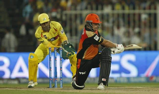 Late burst, Aaron Finch's fighting knock takes Sunrisers Hyderabad to 145/5