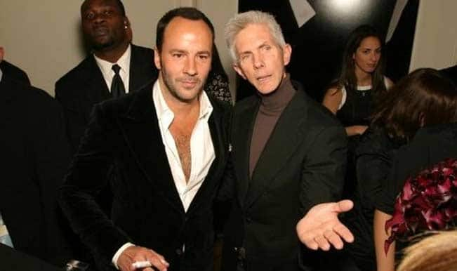 Fashion designer Tom Ford marries gay partner Richard Buckley