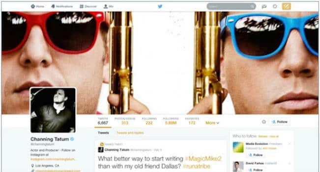 Twitter profiles have been upgraded and everything is BIG!