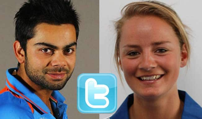 Virat Kohli gets marriage proposal from English cricketer Danielle Wyatt on Twitter!