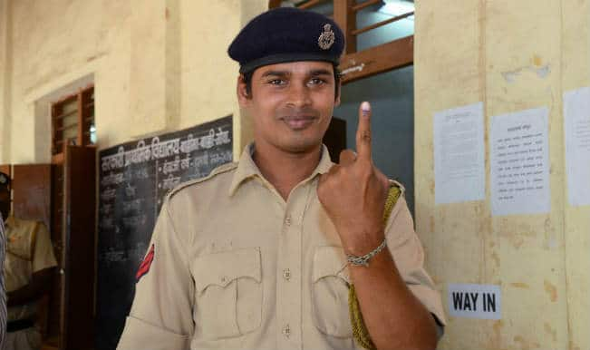 Voter in Goa
