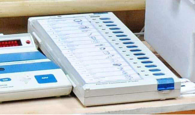 A voting machine in Pune was in favor of Congress