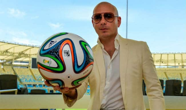 FIFA World Cup 2014 Brazil: Pitbull's 'We Are One' (Ole Ola) is official world cup song!