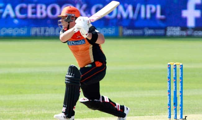 IPL 2014, KKR vs SRH: Sunrisers Hyderabad finish on 160