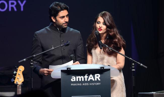 Aishwarya Rai, Abhishek attend amfAr gala at Cannes