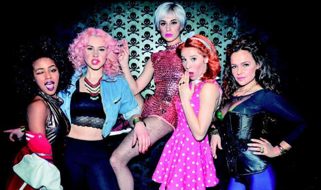 Orgasm video: All girls Dutch EDM band ADAM sings while achieving the Big 'O'!