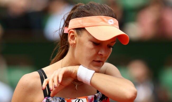Agnieszka Radwanska of Poland