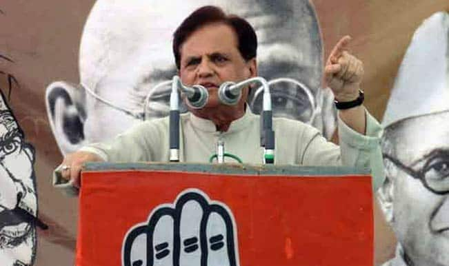 Satyavrat Chaturvedi agrees with Ahmed Patel on owning up for poll debacle