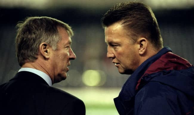 Louis van Gaal has no fear of Alex Ferguson shadow