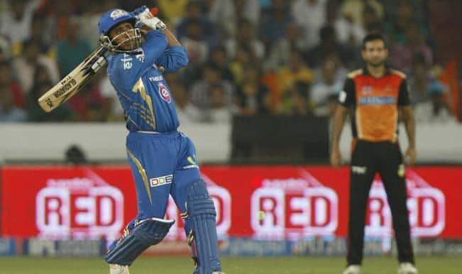 IPL 2014, SRH vs MI: Mumbai Indians win by 7 wickets against Sunrisers Hyderabad