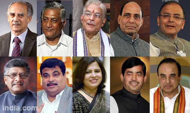 NaMo 11: The likely Narendra Modi cabinet to bring in Achhe Din