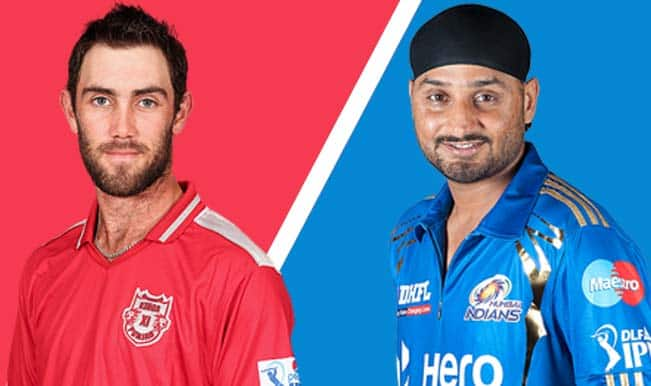 IPL 2014, Kings XI Punjab (KXIP) vs Mumbai Indians (MI): Glenn Maxwell vs Harbhajan Singh
