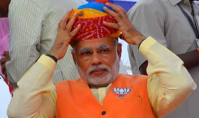 Narendra Modi to step down as Gujarat Chief Minister today