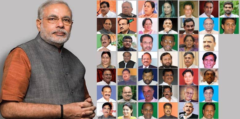 Narendra Modi swearing-in: The final cabinet of 45 ministers of NaMo government