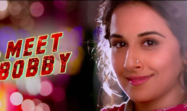"""Bobby Jasoos"" Theatrical Trailer: Vidya Balan is back with yet another captivating act!"
