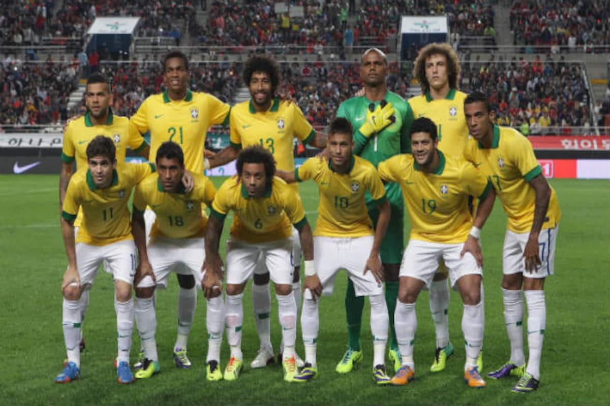 info for 2f762 3556c FIFA World Cup 2014: Brazil's World Cup squad worth 'half a ...