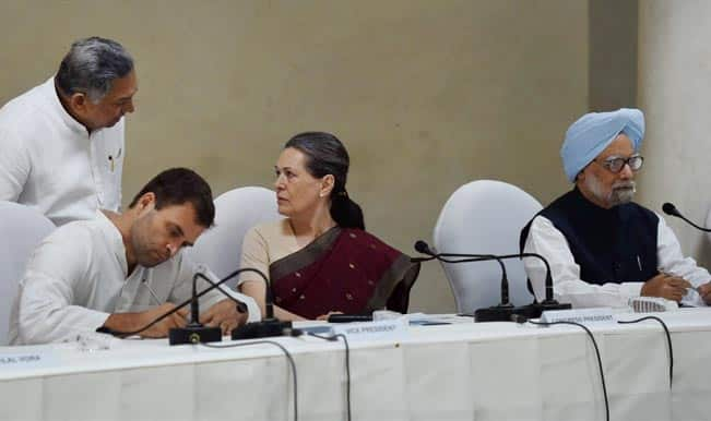Congress-President-Sonia-Gandhi-with-party-Vice-President-Rahul-Gandhi-at-the-CWC-meeting