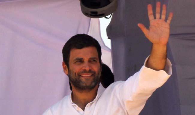 Rahul Gandhi visits his bastion Amethi on the polling day