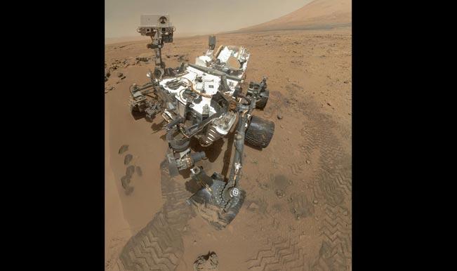 NASA rover clicks selfie on Mars!