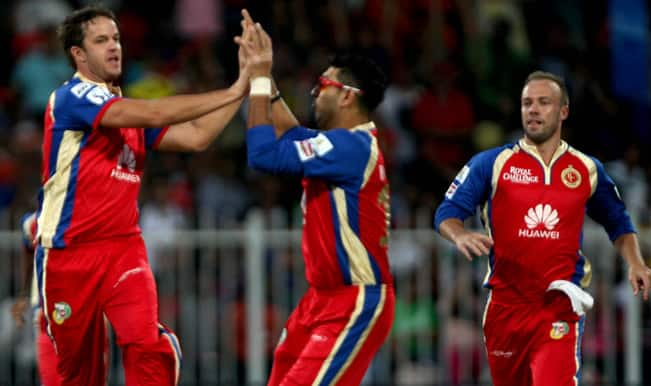 Live Cricket Score, IPL 2014, Mumbai Indians (MI) vs Royal Challengers Bangalore (RCB): Match 27 at Wankhede Stadium, Mumbai