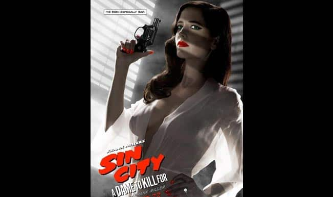Eva Green's raunchy movie poster banned