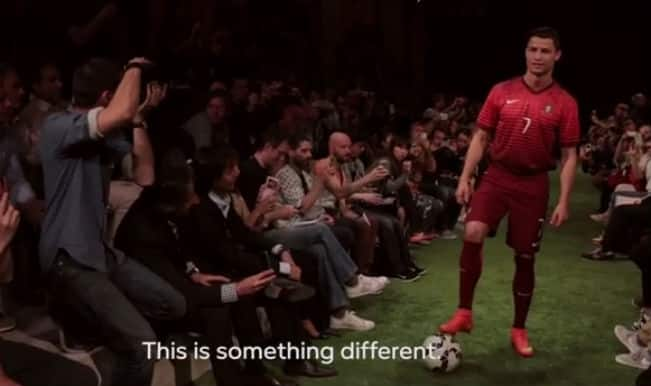 Video: Cristiano Ronaldo unveils Nike's brand new 'Mercurial Superfly' in Madrid